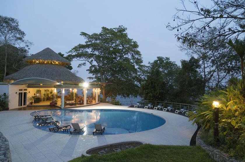 Guatemala - Hotel Bolontiku - piscine