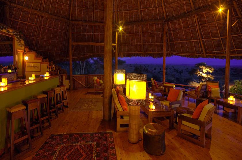 Elewana Tortilis Camp, Amboseli, Kenya, bar