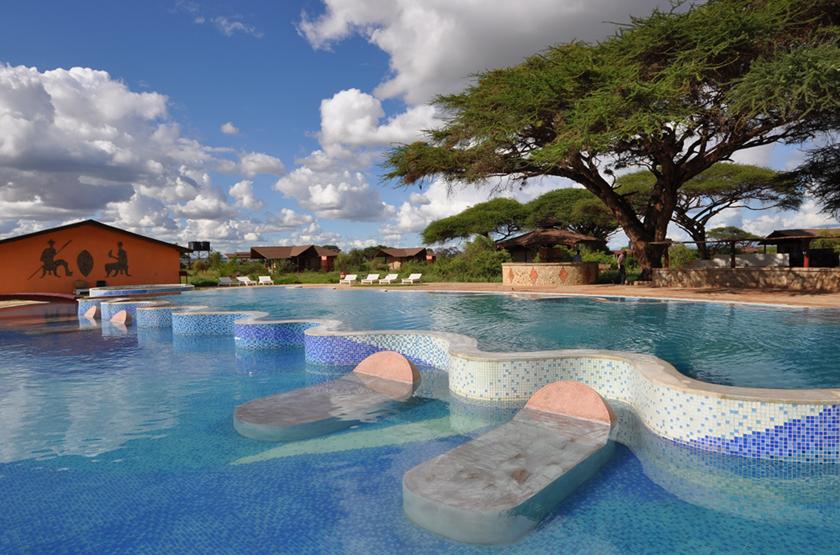 Kilima Safari Camp, Amboseli, Kenya, piscine