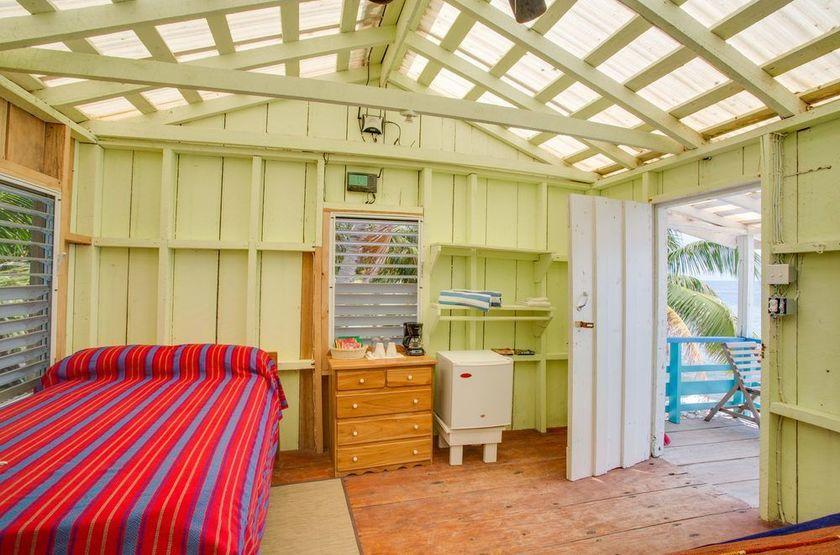 Ranguana Caye Cabanas, Belize, île de Placencia, intérieur