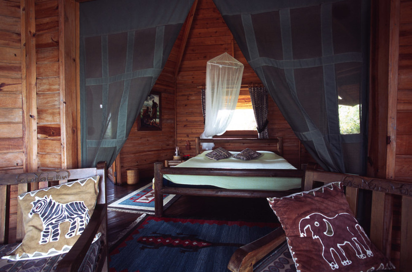 Nile Safari Camp, Murchison Falls, Ouganda, chambre