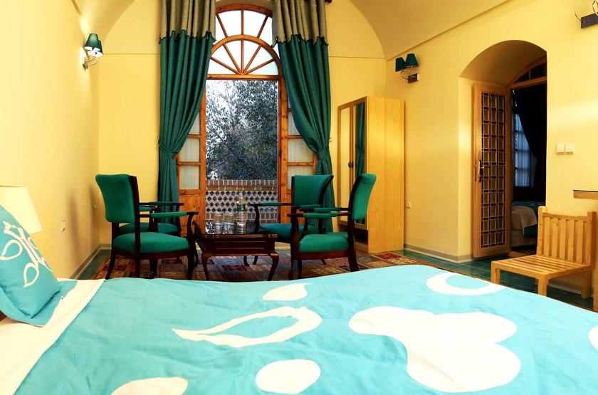 Dad Hotel, Yazd, Iran, chambre
