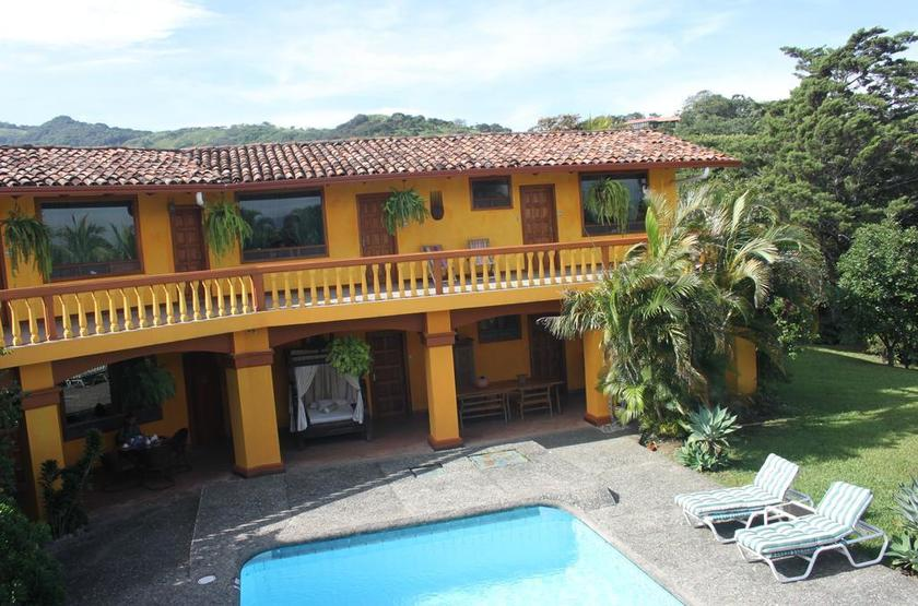 Costa Rica - Posada Canal Grande - Vue Posada et piscine