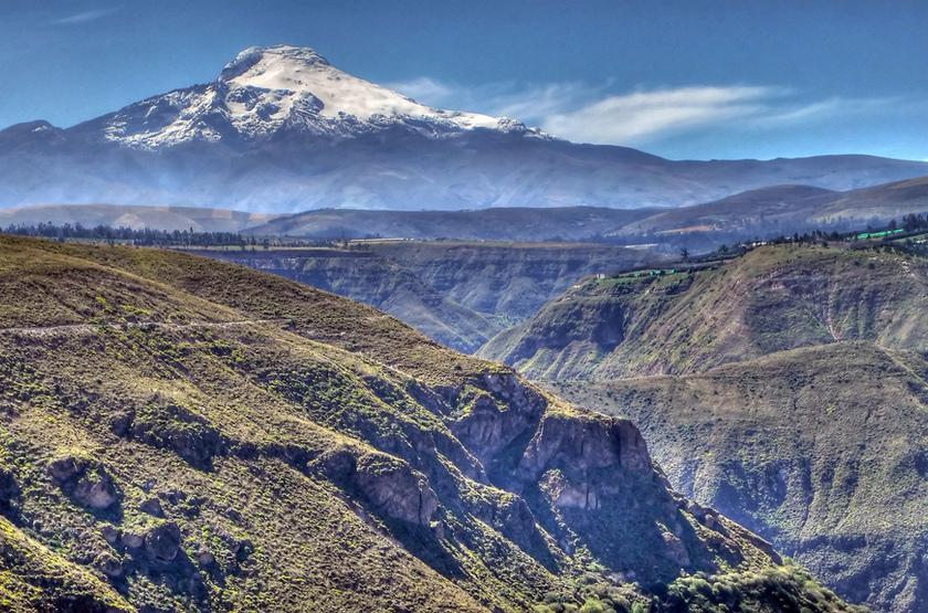 Volcan d'Antisana, Equateur