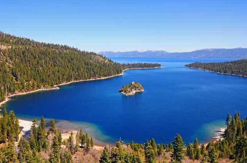 Lac Tahoe, USA