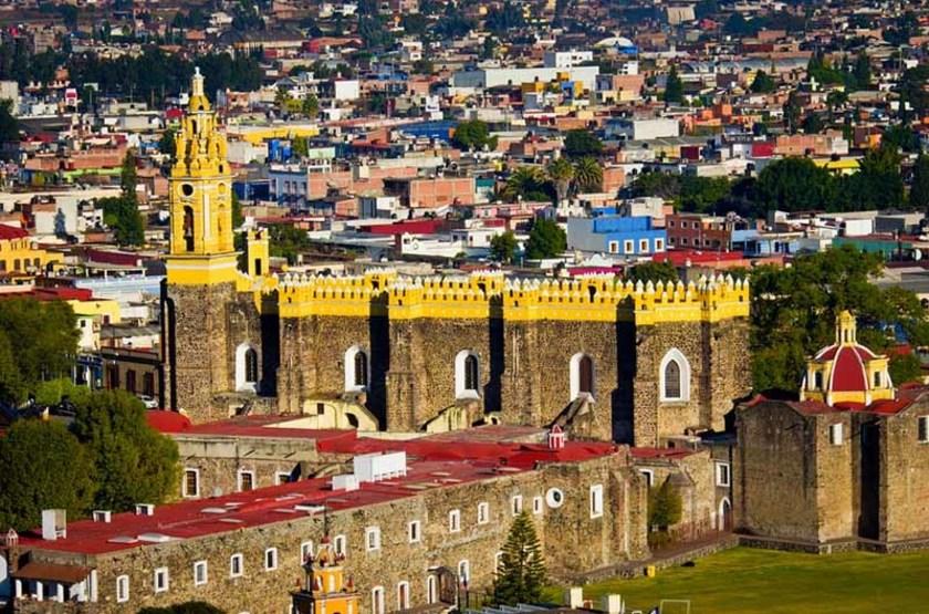 Couvent San Gabriel à Cholula, Mexique