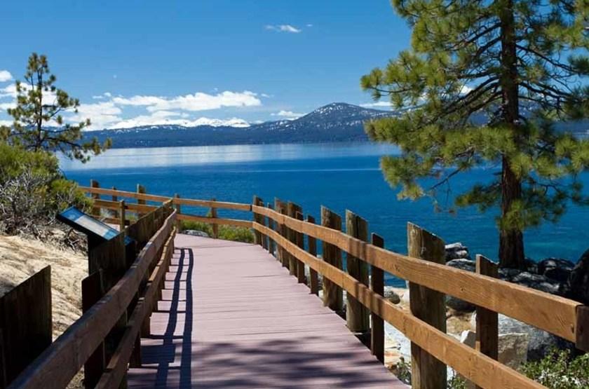 Lac Tahoe, Amérique du Nord
