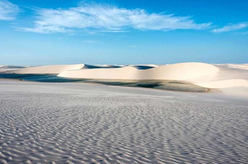Voyage au Brésil, Désert Lençois Maranhenses et lagunes