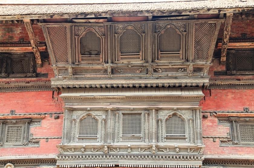 Palace Ormate, Katmandou, Nepal