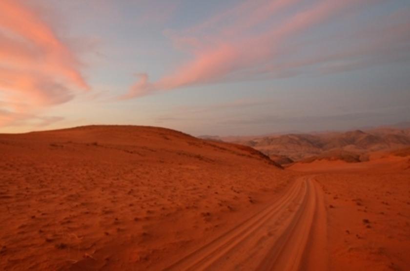 En route pour la Namibie et son désert
