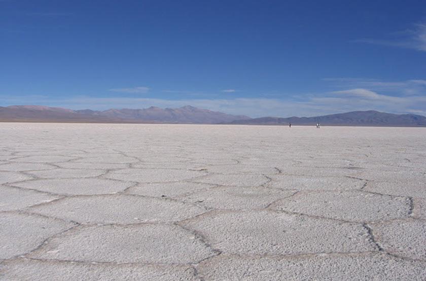 Salina Grande, désert de sel, Jujuy, Argentine