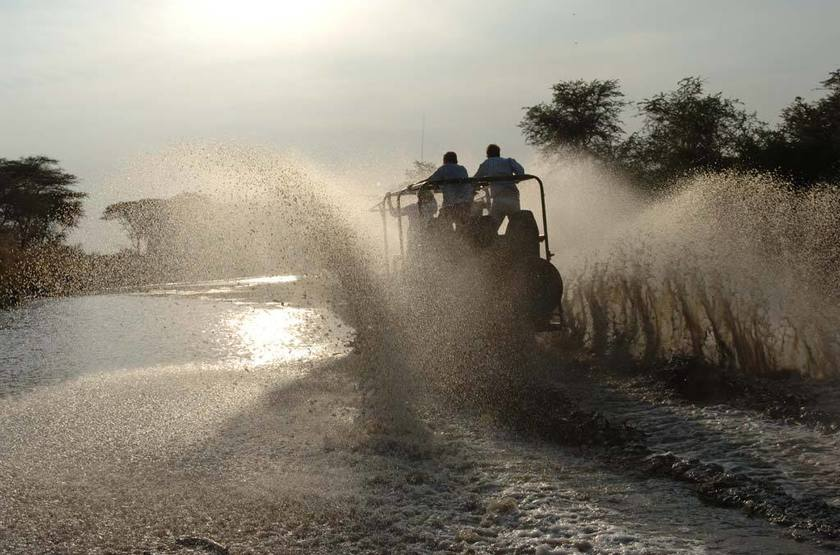Safari en bateau à Katavi, Tanzanie