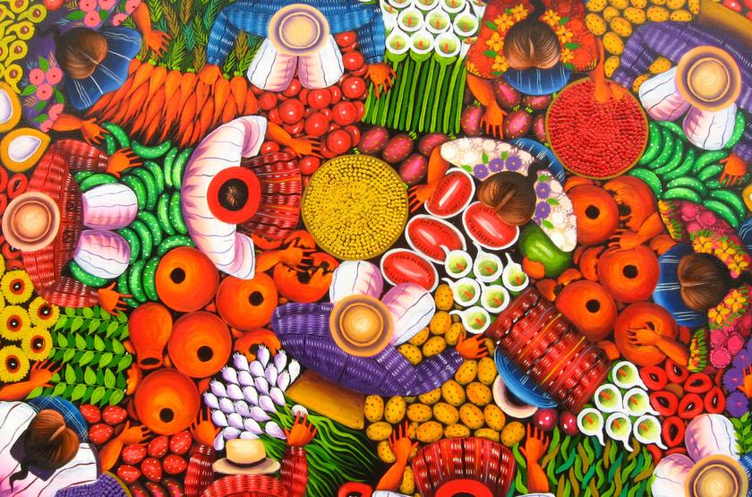 Peinture Guatemala