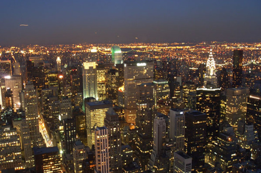 New york by night slideshow
