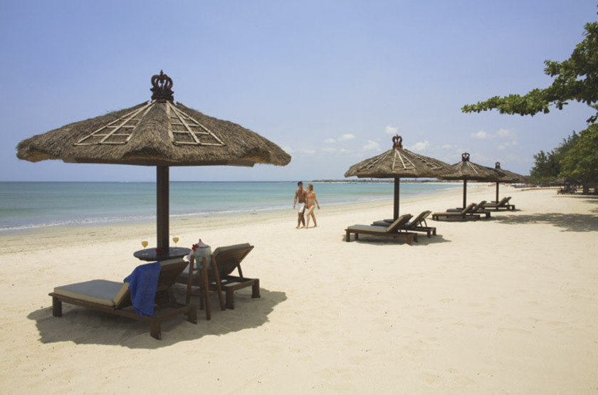 Plage de Jimbaran, Bali, Indonésie