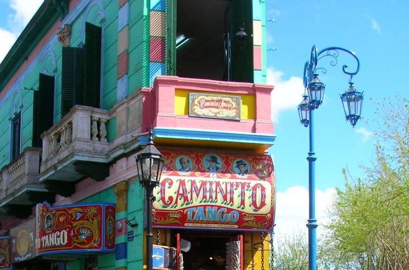 Buenos Aires, quatier Caminito, Argentine