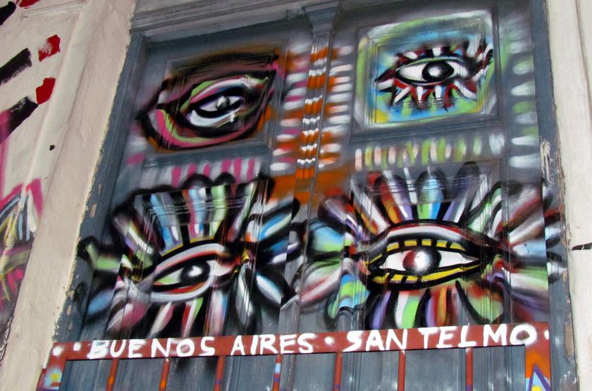 Buenas Aires, Art Street, Argentine