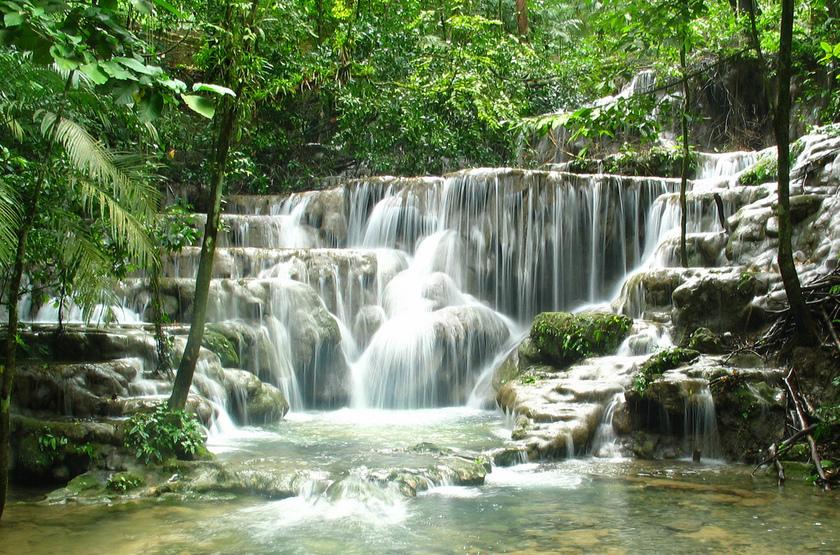 Cascades de Paliente, Mexique
