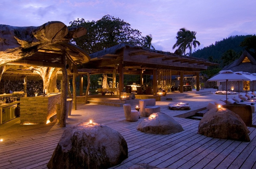 Seychelles   north island   lounge 2 slideshow