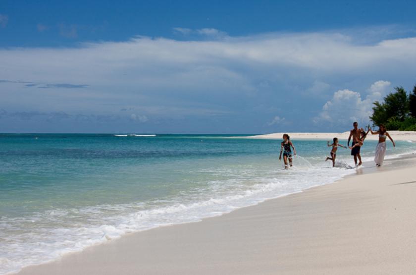 Seychelles   denis island   famille slideshow