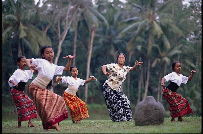 Danses balinaises, Bali, Indonésie