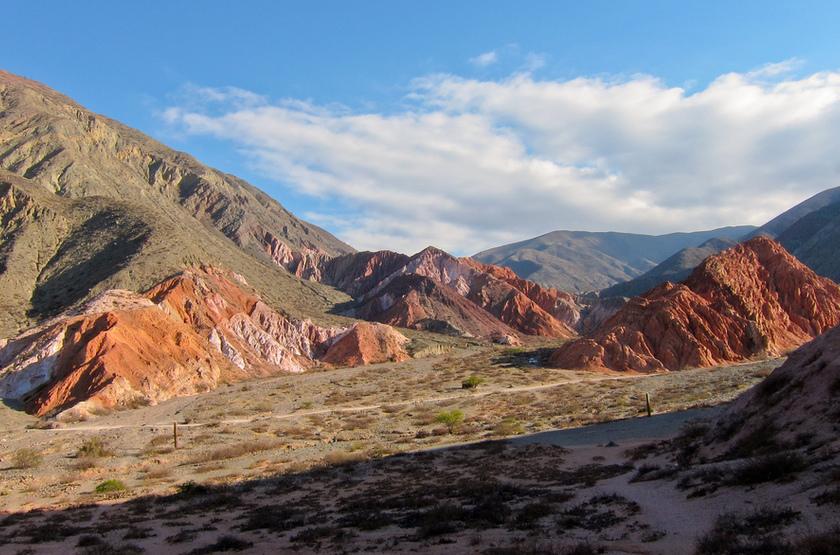 Collines de Purmamarca, Argentine