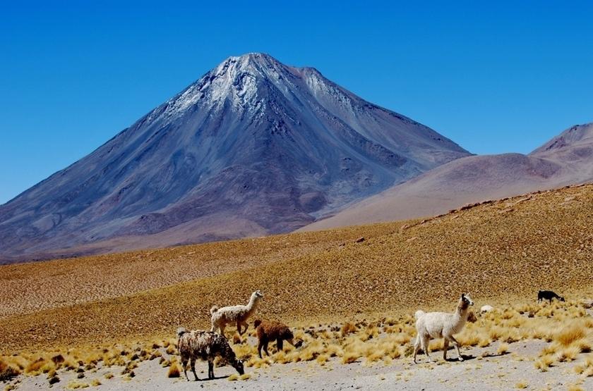 Volcan de Licancabur, Chili