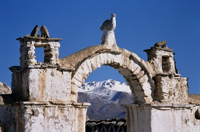 Eglise de Curahuara de Carancas, Bolivie