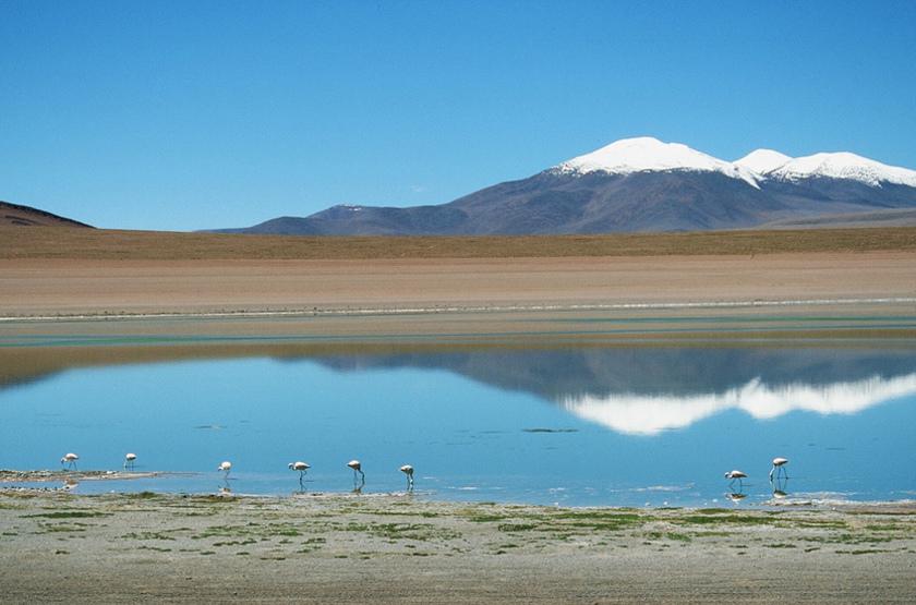 Volcan Uturuncu, Bolivie