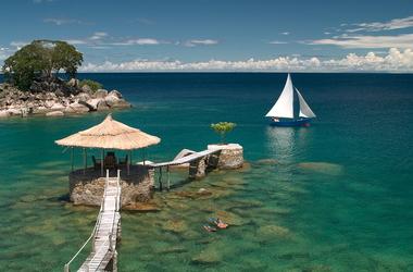 Séjour au lac Malawi sur l'île de Likoma et à Nkwichi, voyage Afrique