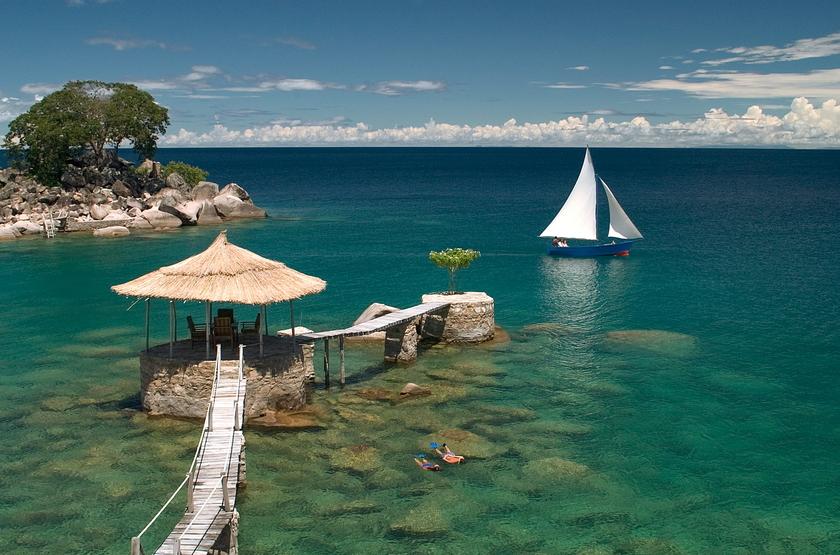 Kaya Maya, Ile de Likoma, lac Malawi