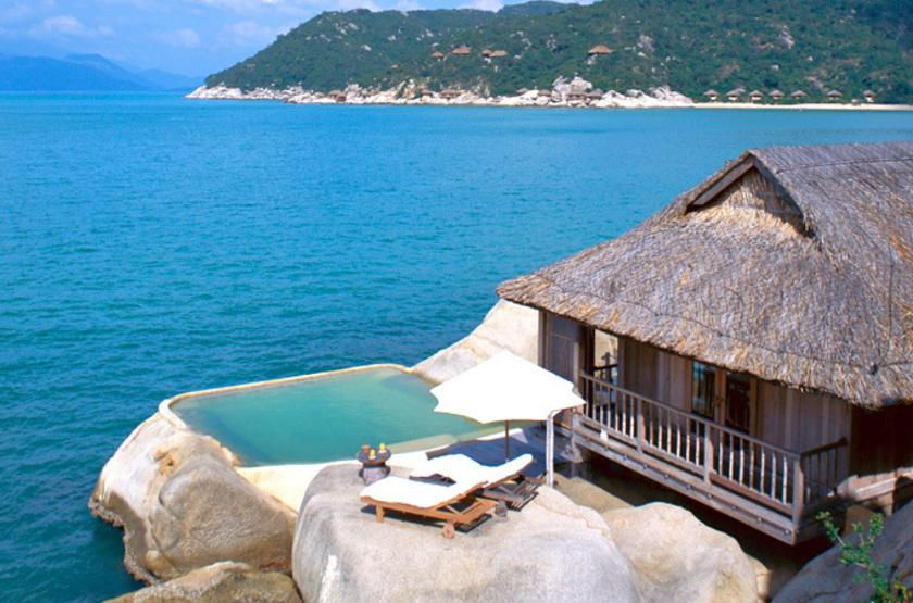 Villa privée au Vietnam, Six Senses, Nha Trang, Ninh Van Bay