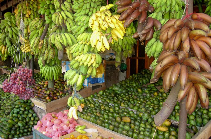 Marché aux fruits, Sri Lanka