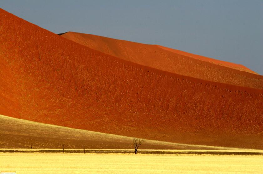 Dunes de Sossusvlei, Namibie