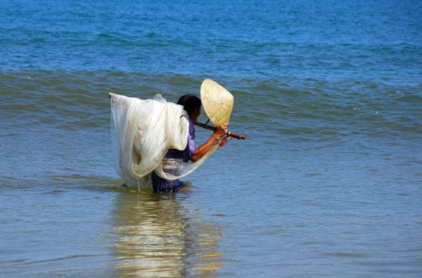 Pêcheur, Hoi An, Vietnam