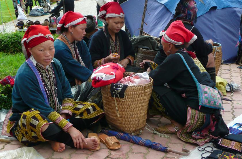 Minorité Dzao Rouges, Vietnam