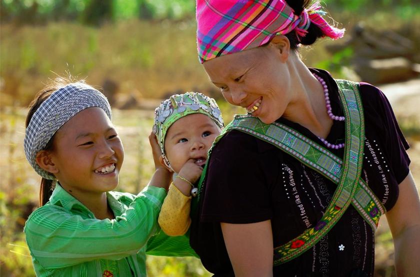 Minorité Mong Noir, Vietnam