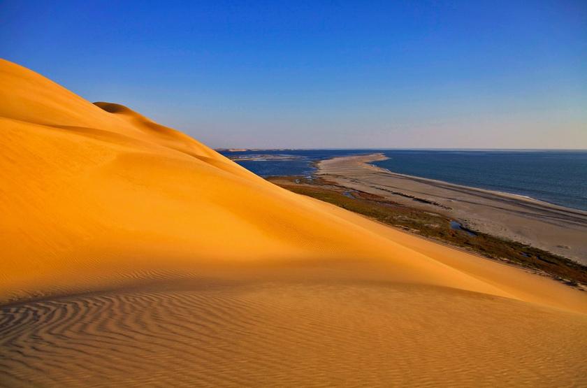 Desert de Sandwish Harbour, Namibie