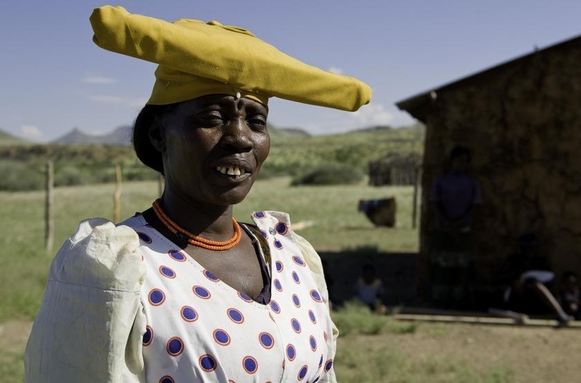 Herero, Damaraland, Namibie