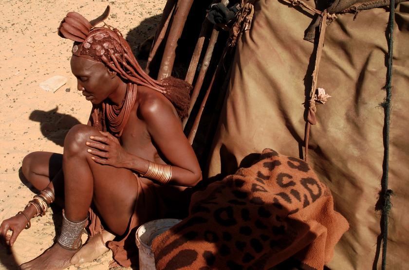 Peuple Himba, Kaokoland, Namibie