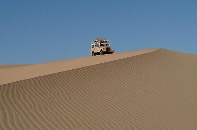 Safari en 4x4, Namibie