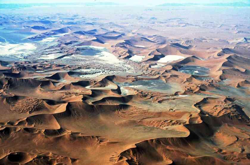Survol des dunes en  avion taxi, Namibie