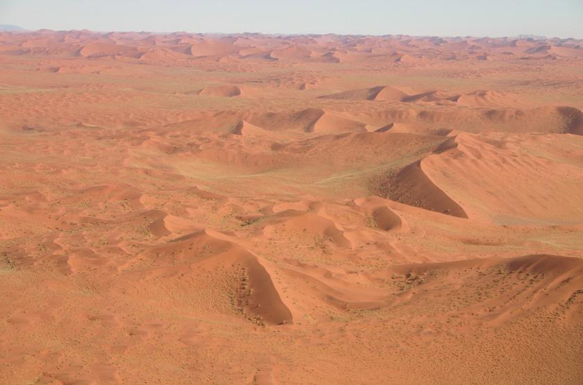 Survol des dunes de Sossusvlei en avion taxi, Namibie