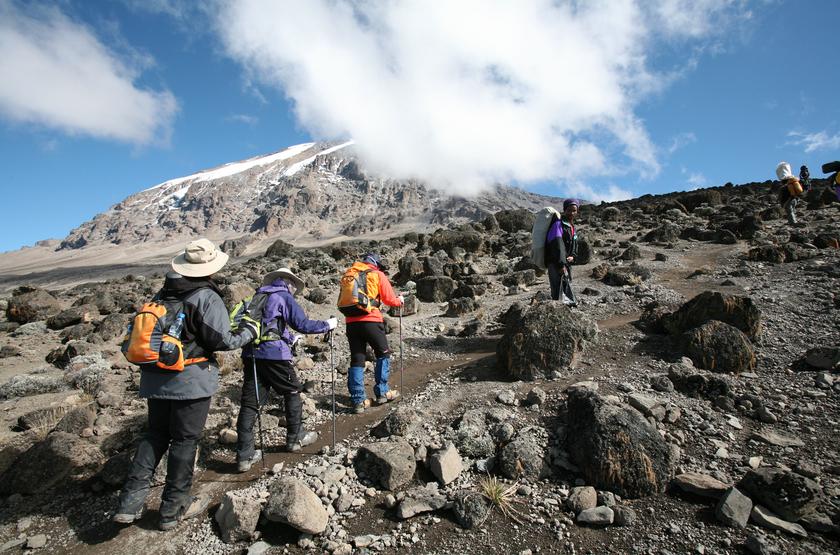 Ascension du Kilimandjaro, Tanzanie