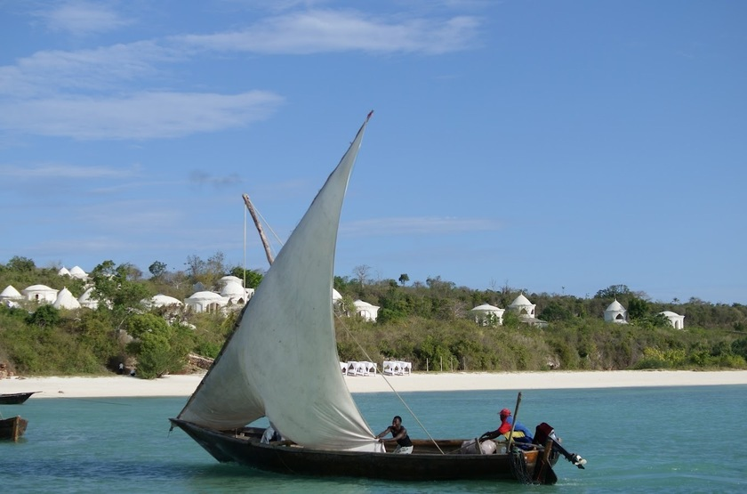 Dhow traditionnel, Zanzibar