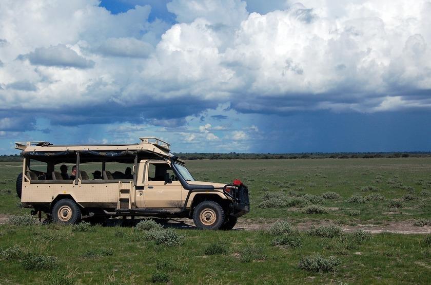 Safari en 4x4 au Botswana