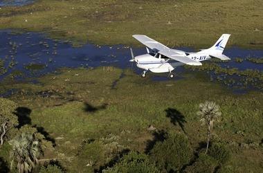 L'essentiel du Botswana en avion taxi, voyage Afrique