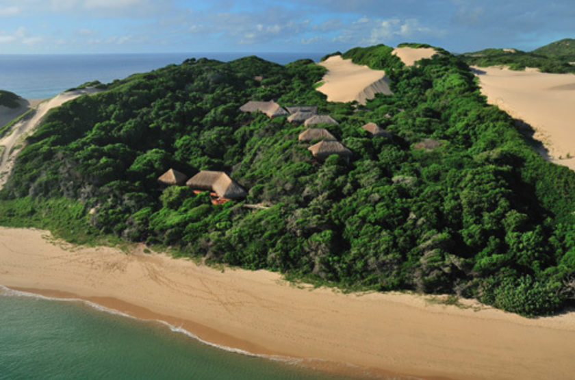 Machangulo Beach Lodge, île d'Inhaca, Mozambique