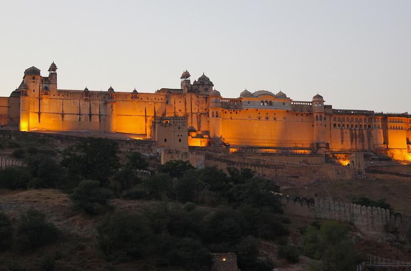 Jaipur, Fort d'Amber, Rajasthan, Inde