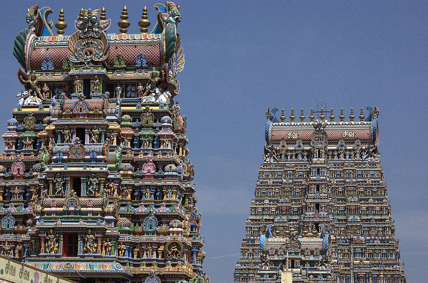 Meenakshi Temples, Inde du Sud